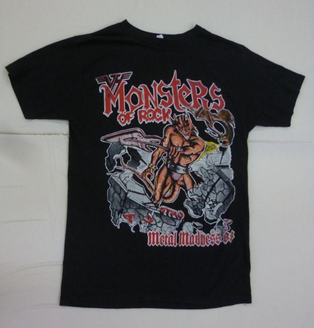 N1*ビンテージ 88年 Monsters Of Rock 80s フェス バンドTシャツ METALLICA DOKKEN SCORPIONS VAN HALEN ツアーT メタル