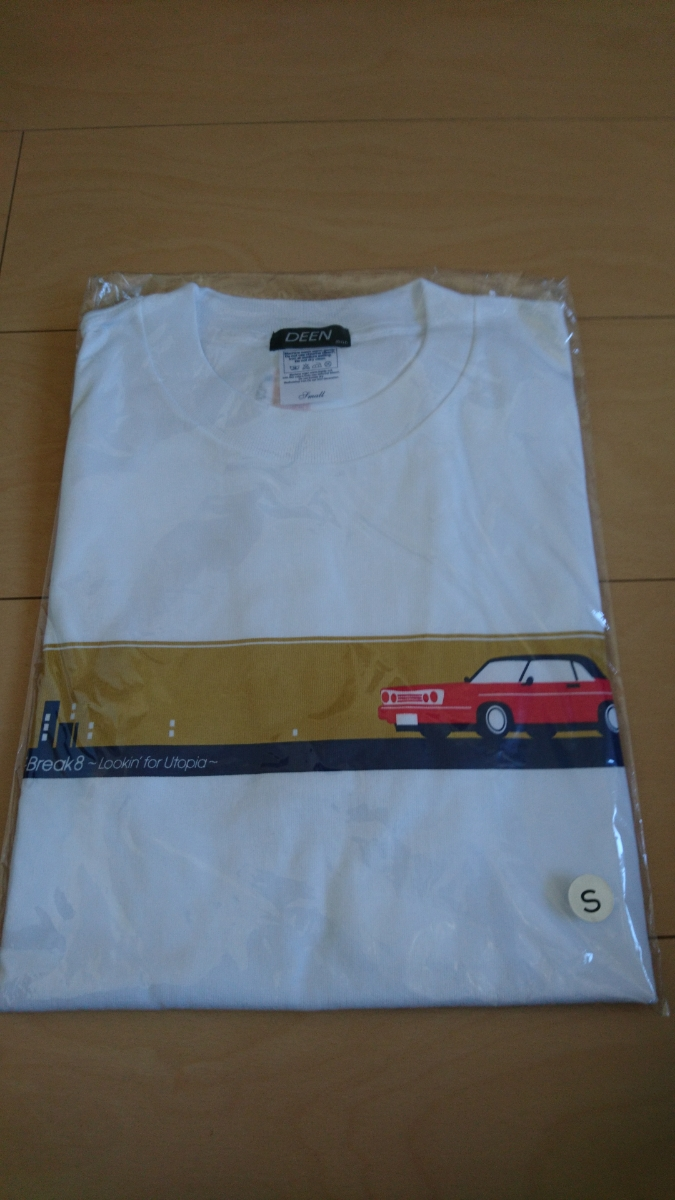 ●【即決】DEEN Tシャツ live joy Break 8 サイズ S lookin' for Utopia