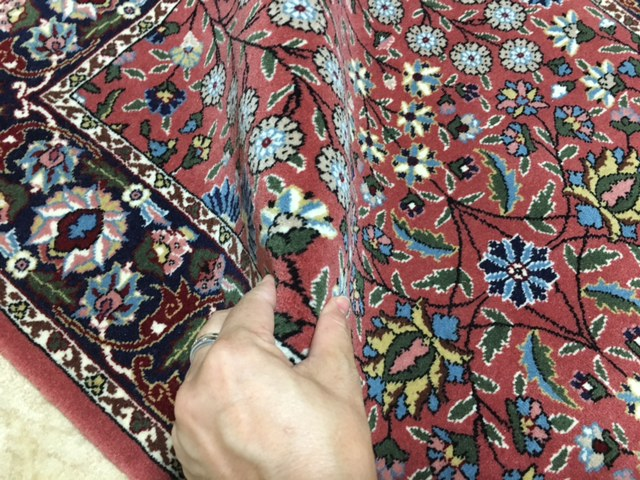 トルコでも入手困難見事なへレケ絨毯HEREKEサイン入りシュメル工房製貴重SUPERランク1枚はほしい憧れのへレケ絨毯通関済日本発送_画像6
