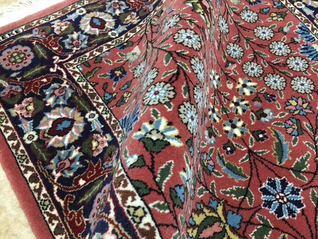 トルコでも入手困難見事なへレケ絨毯HEREKEサイン入りシュメル工房製貴重SUPERランク1枚はほしい憧れのへレケ絨毯通関済日本発送_画像5