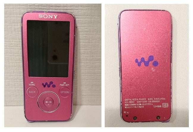SONY ウォークマン★NW-S636F 4GB スピーカー付 ポータブルオーディオプレーヤー◆ピンク_画像2