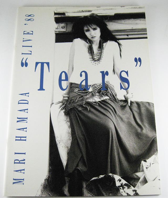 浜田麻里 MARI HAMADA ツアーパンフレット TEARS LIVE 1988 貴重品