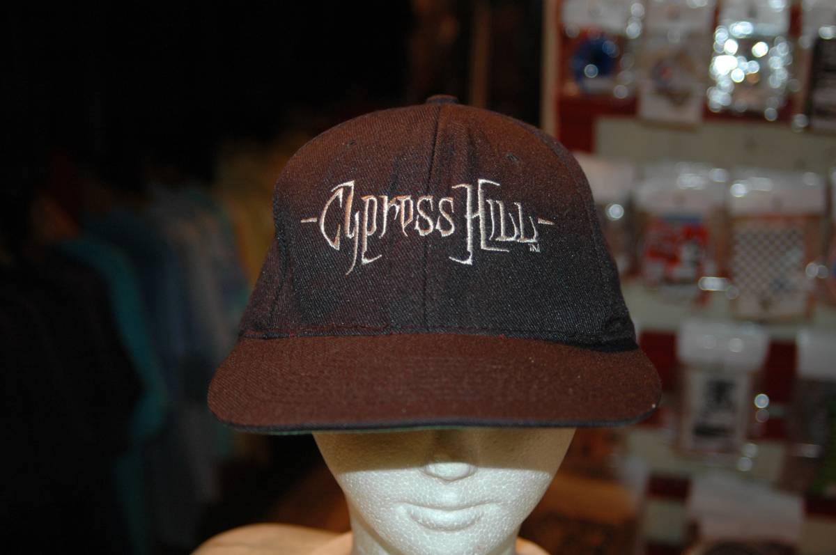 ユーズド 90年代 CYPRESS HILL サイプレス ヒル ブラック サンデー キャップ