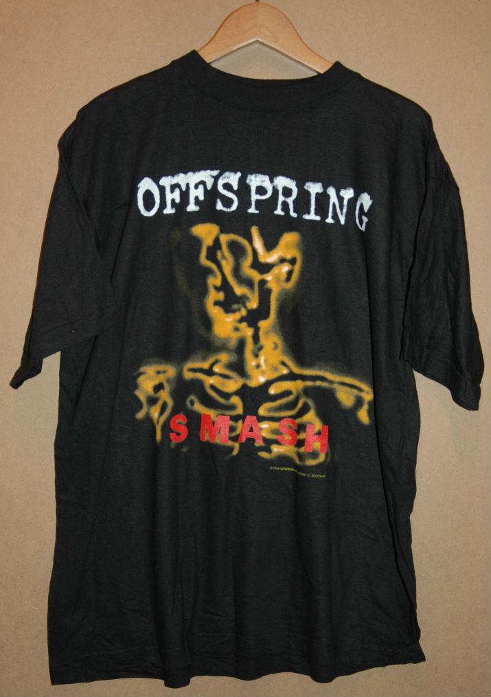 デッドストック 90年代 OFFSPRING SMASH オフスプリング スマッシュ Tシャツ