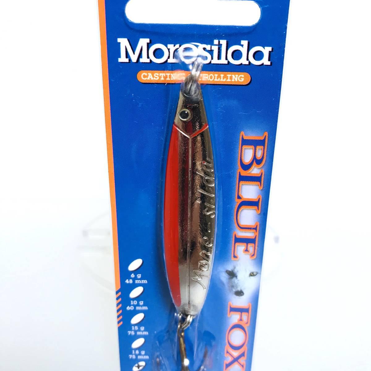 モアシルダ MORESILDA スプーン 22g RAPALA(ラパラ) BLUE FOX(ブルーフォックス)検)シーバス ルアー