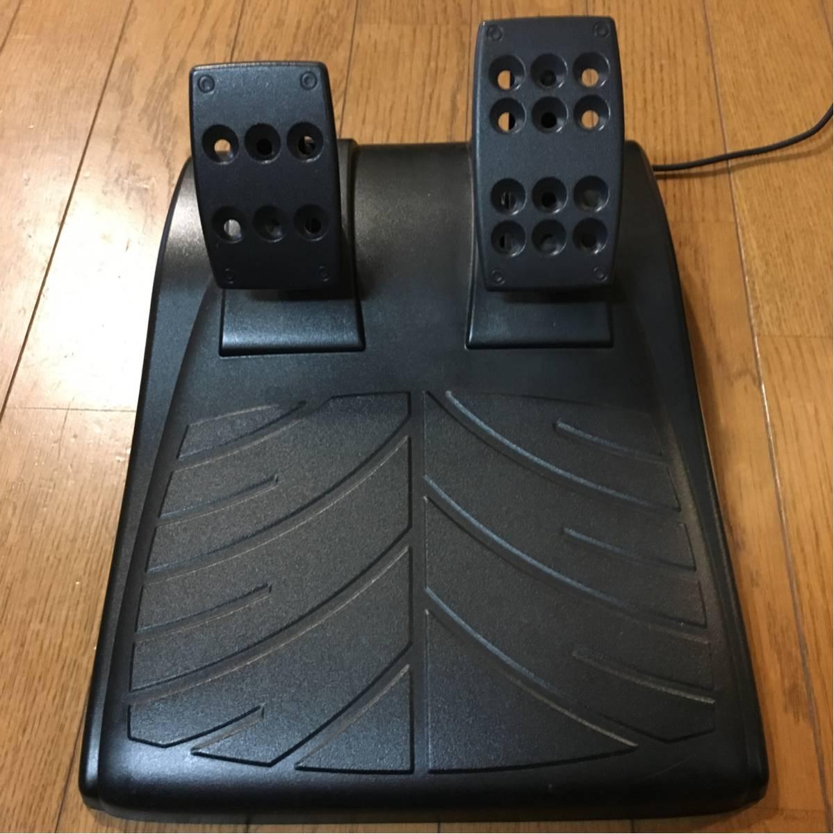 ★ロジクール ドライビングフォースGT Driving Force PS3 PS4ハンコン グランツーリスモ 動作確認済 logicool★_画像3
