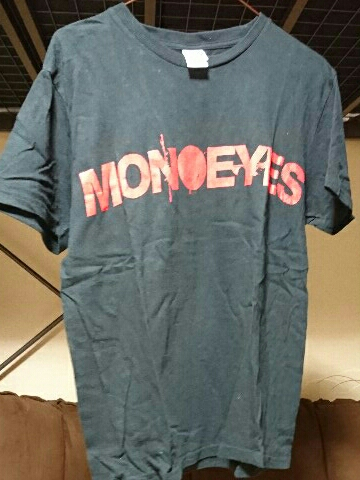 [グッズ] MONOEYES (モノアイズ) 「A Mirage In The Sun ツアーTシャツ (Mサイズ)」 ブラック / 黒 TOUR 2015