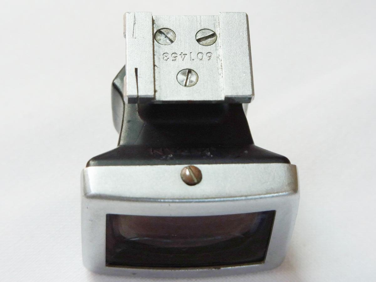 ★Nikon/ニッコールO 2.1cm F4 S型用 ファインダー★激レア!_画像6