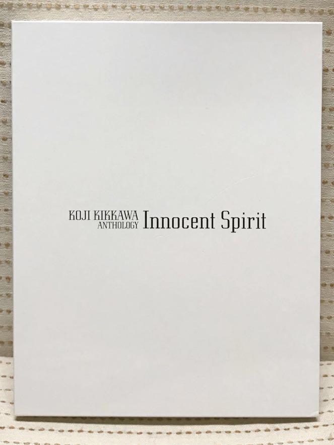 ■吉川晃司 20周年 写真集/アーティストブック 「anthology Innocent Spirit」ケース入・しおり付 /COMPLEX