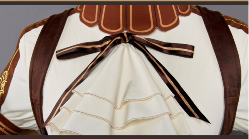 Code:Realize ~創世の姫君 カルディア ドレス ワンピース コスプレ衣装+靴下+腿飾り_画像8