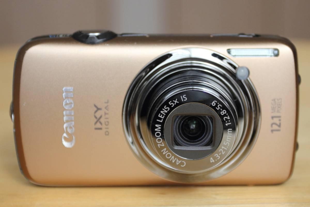 Canon IXY DIGITAL 930IS ブラウン ・ 動作確認済 ・ 本体のみ