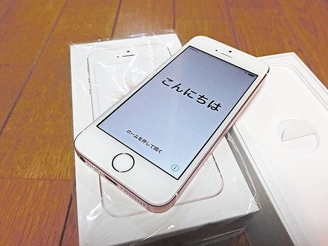■ 極美品 海外SIMフリー版 シャッター音無音可 iPhone Rose Gold 64GB A1723 技適〇 2015.5までApple Care期間 ■