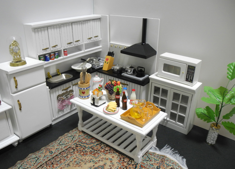 特価商品◆ドールハウス◆1/12サイズ◆キッチンセット◆ミニチュア_画像3