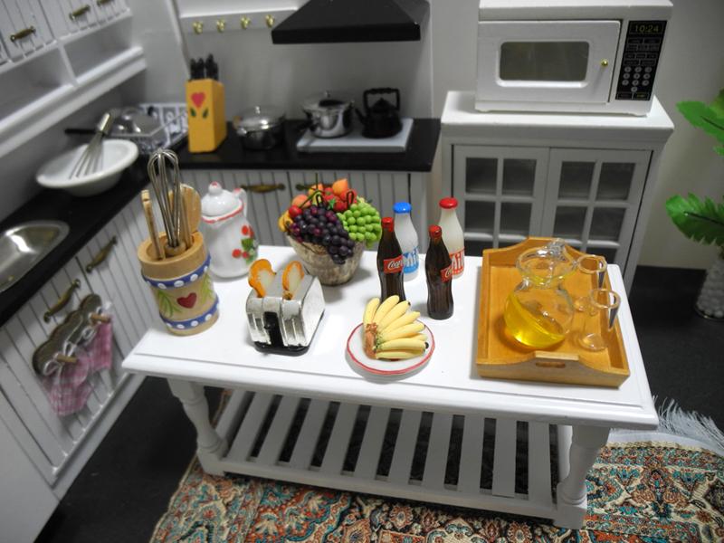 特価商品◆ドールハウス◆1/12サイズ◆キッチンセット◆ミニチュア_画像7
