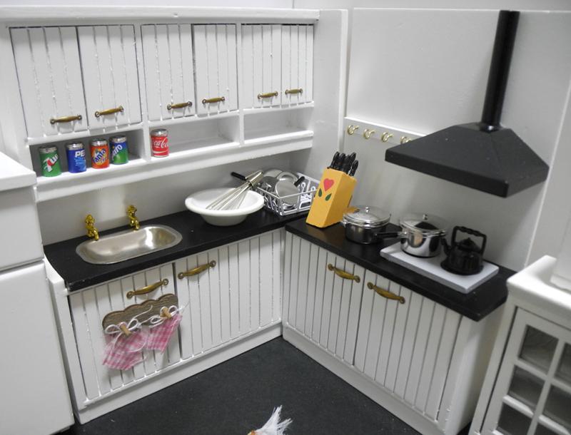 特価商品◆ドールハウス◆1/12サイズ◆キッチンセット◆ミニチュア_画像6