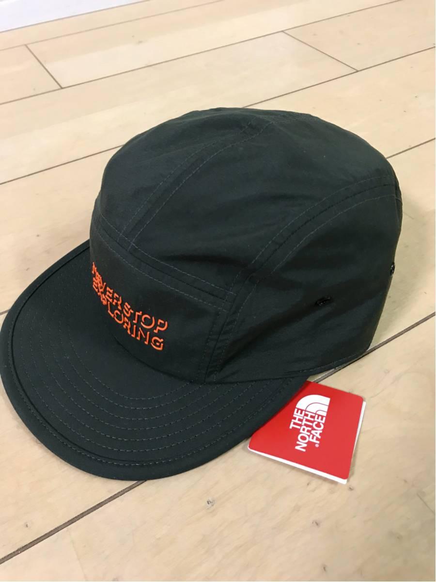 ノースフェイス直営店購入 キャップ FIVE PANEL CAP NN01716 新品 送料無料 ロジングリーン