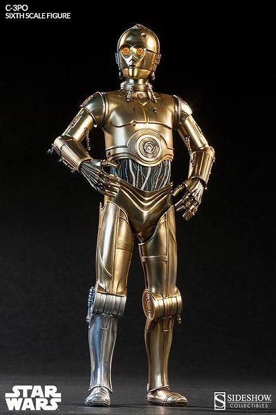 サイドショウ スターウォーズ ヒーロー・オブ・レベリオン C-3PO/ 未開封 グッズの画像