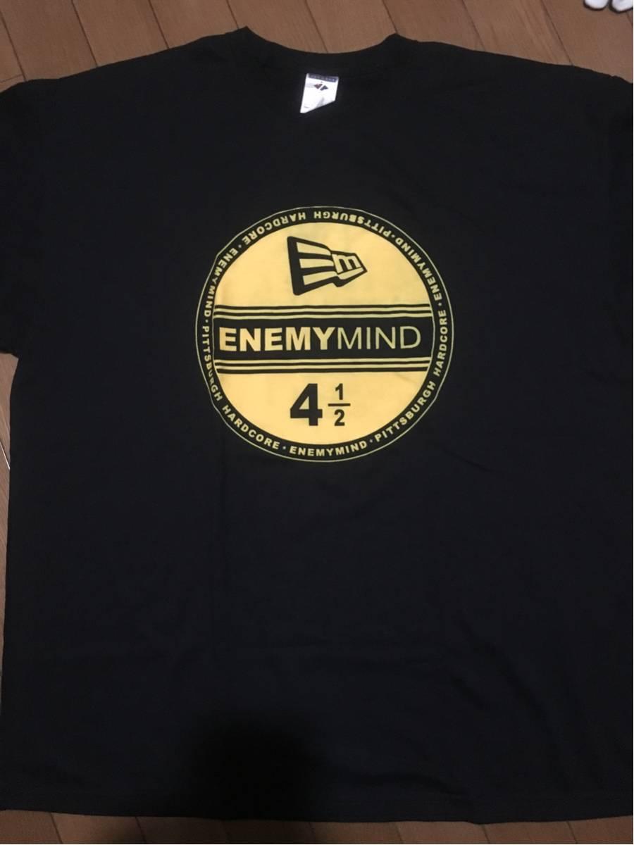 レア ENEMYMIND Tシャツ 2XL XXL 美品 NYHC PAHC Madball BULLDOZE IRATE SUBZERO HATEBREED ALL OUT WAR MERAUDER ENEMYMIND BEATDOWN ②