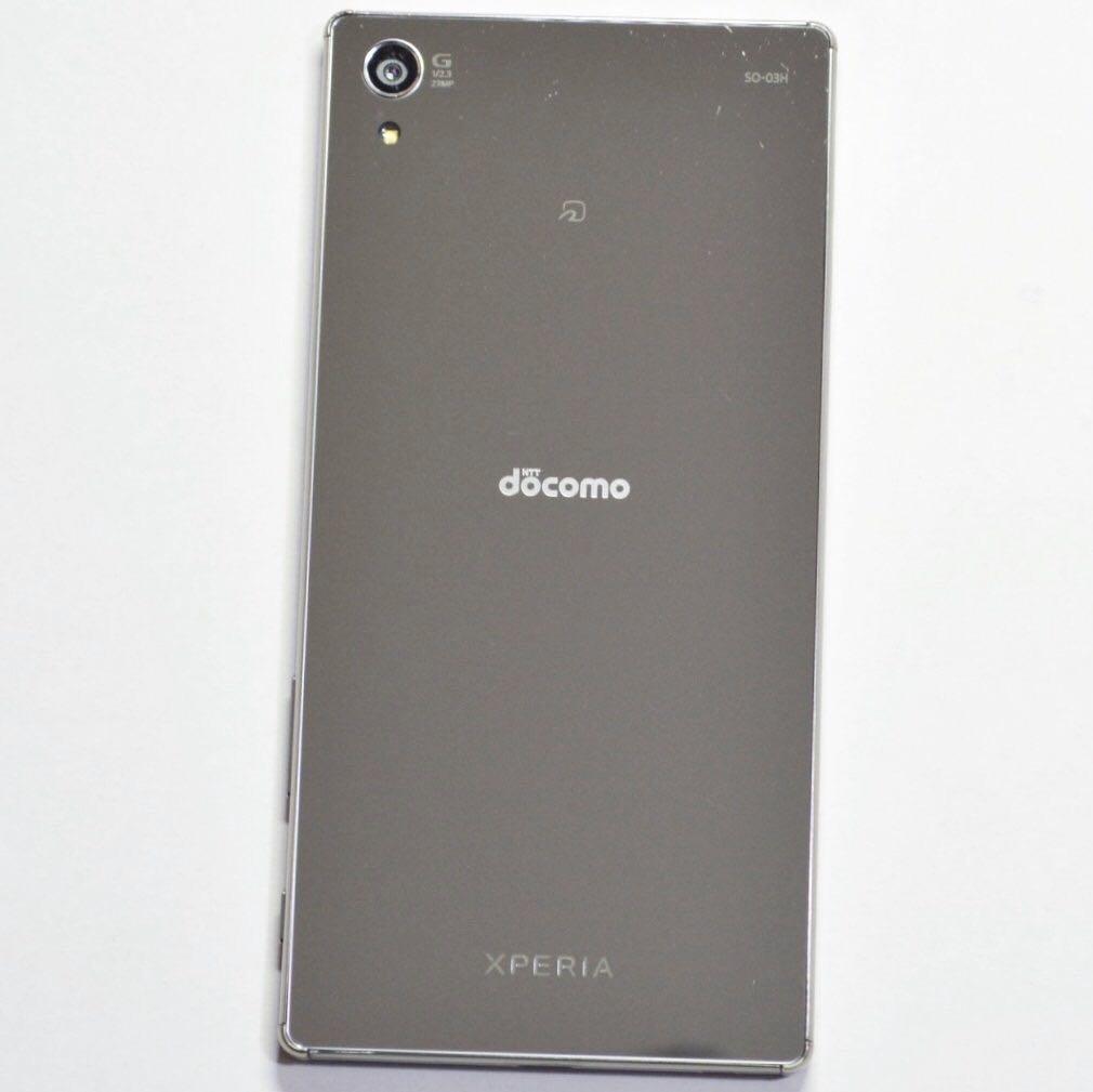 【ジャンク 1円~】docomo Xperia Z5 Premium SO-03H クローム 判定○ 白ロム SONY ソニー ドコモ エクスペリア 迅速対応