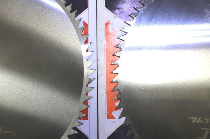 KR23◆津村◆305mm刈払機用丸のこ刃/4枚セット/刈り払い機用マルノコ刃_画像5