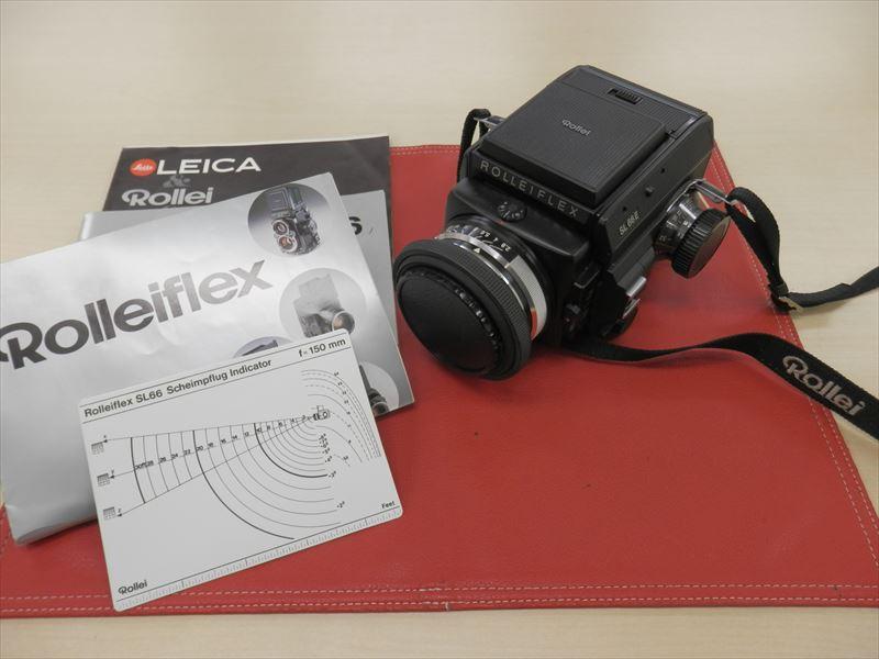 1円~☆ローライ☆Rolleiflex SL66E 美品 レンズ Planar 1:2.8 f=80mm 取説付