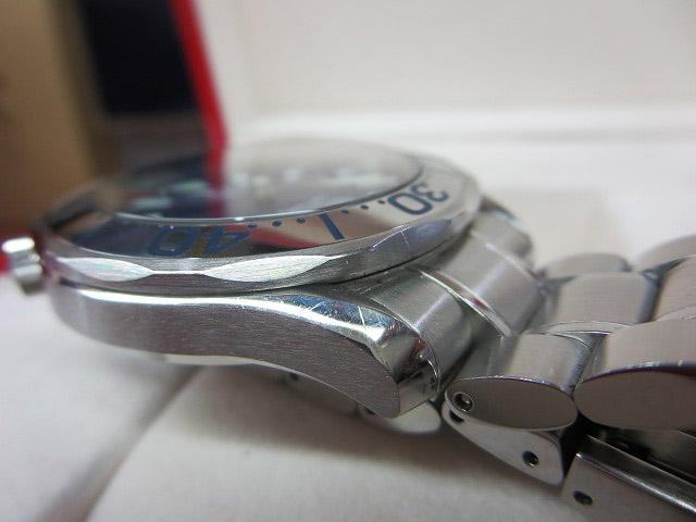 S1018 中古 オメガ シーマスター300 プロフェッショナル ネイビー メンズ 腕時計 OMEGA ケース/外箱/取説付_画像6