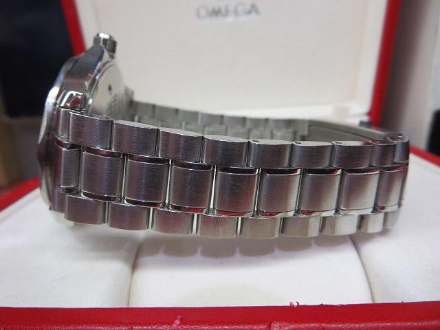 S1018 中古 オメガ シーマスター300 プロフェッショナル ネイビー メンズ 腕時計 OMEGA ケース/外箱/取説付_画像7