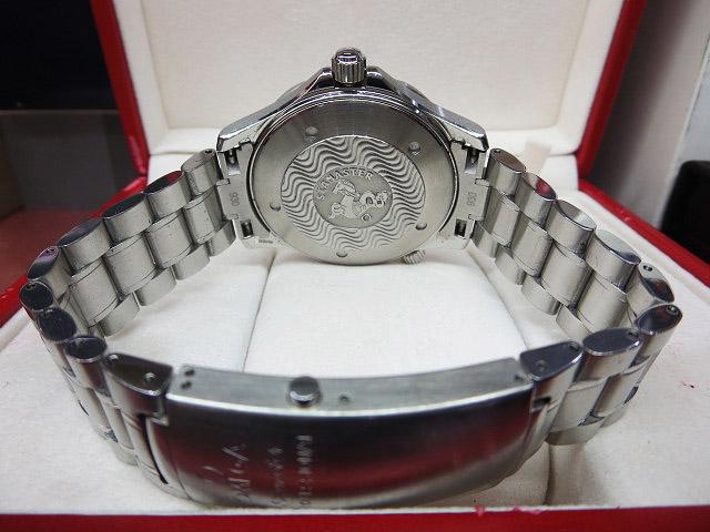S1018 中古 オメガ シーマスター300 プロフェッショナル ネイビー メンズ 腕時計 OMEGA ケース/外箱/取説付_画像4