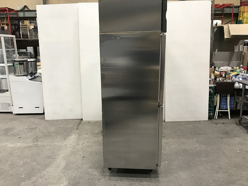 K-157 2014年製 ホシザキ 6ドア冷凍冷蔵庫 HRF-180LZFT3 横1800×奥650×高さ1880mm 3相200V 業務用 中古 動作確認済み_画像2