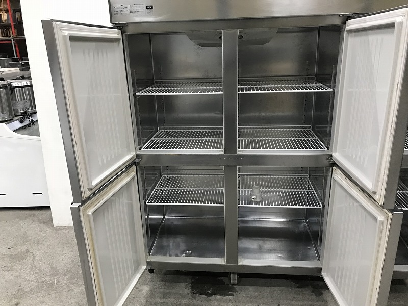 K-157 2014年製 ホシザキ 6ドア冷凍冷蔵庫 HRF-180LZFT3 横1800×奥650×高さ1880mm 3相200V 業務用 中古 動作確認済み_画像4