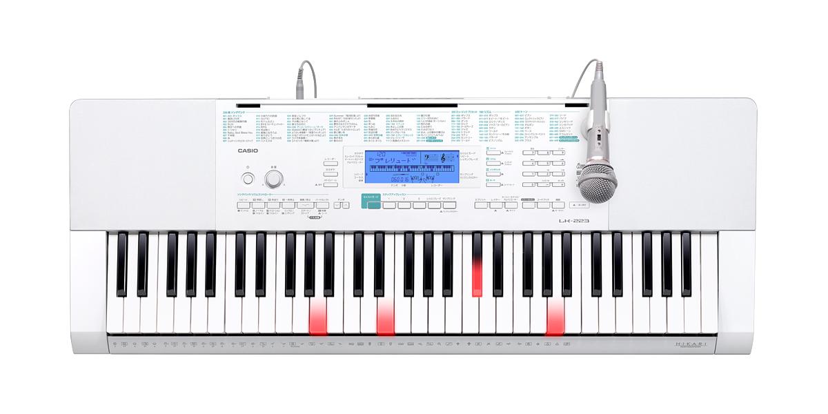 CASIO [カシオ] 光ナビゲーションキーボード LK-223 新品・未開封