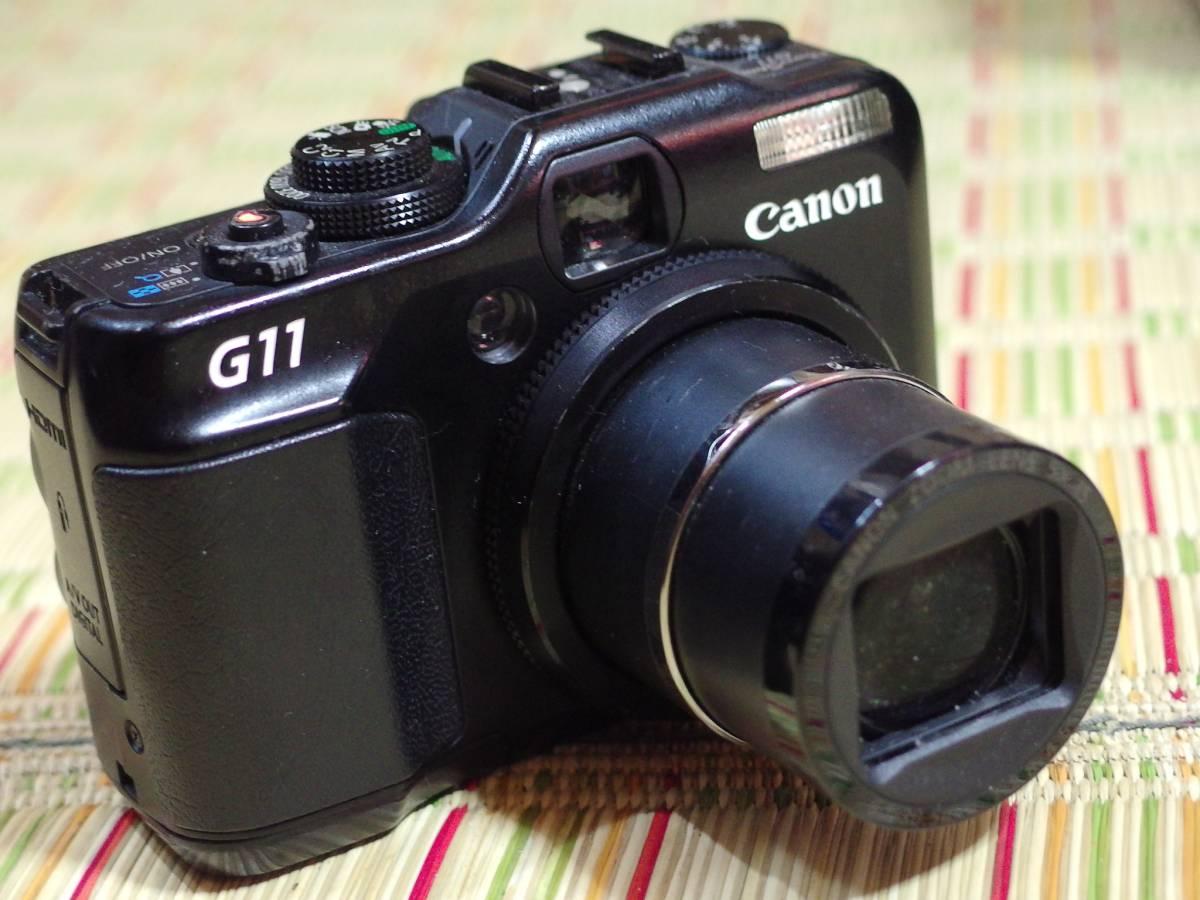 Canon キャノン G11 Powershot コンパクトデジタルカメラ パワーショット ZOOM 5×lS 6.1-30.5mm ジャンク