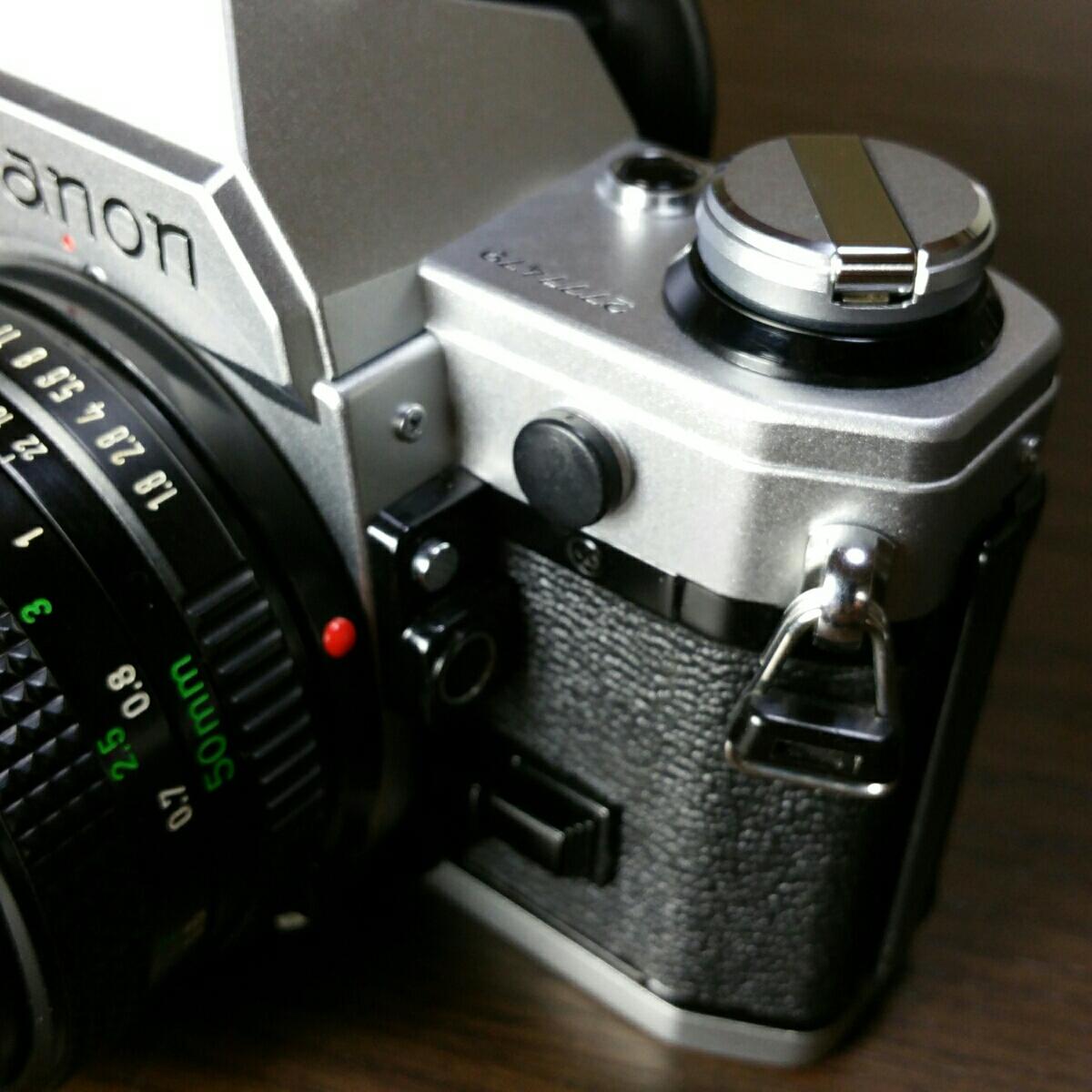 【ジャンク市】CANON AE-1 FD 50mm 1.8 純正フィルター フード BS-52 :#31_画像4