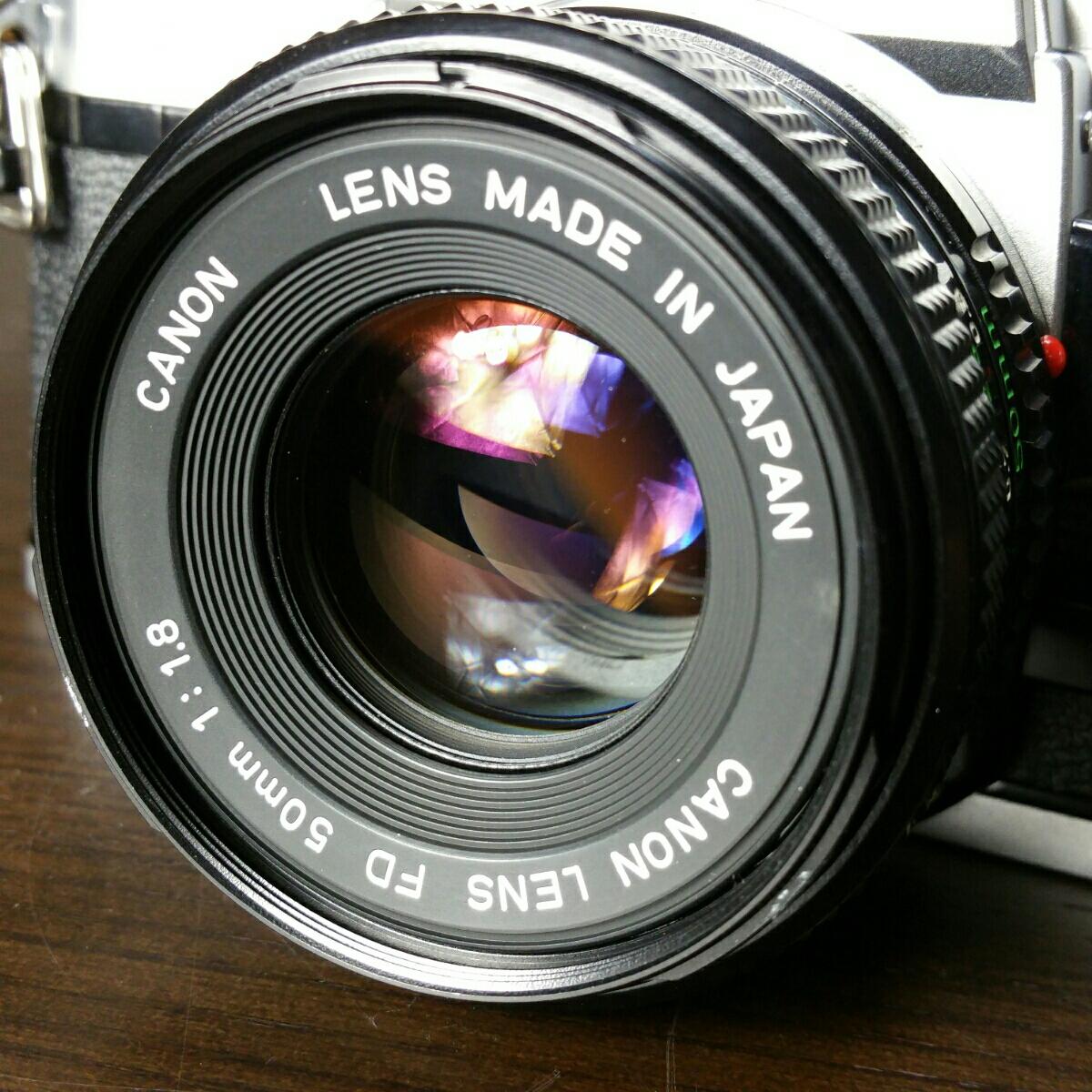 【ジャンク市】CANON AE-1 FD 50mm 1.8 純正フィルター フード BS-52 :#31_画像2