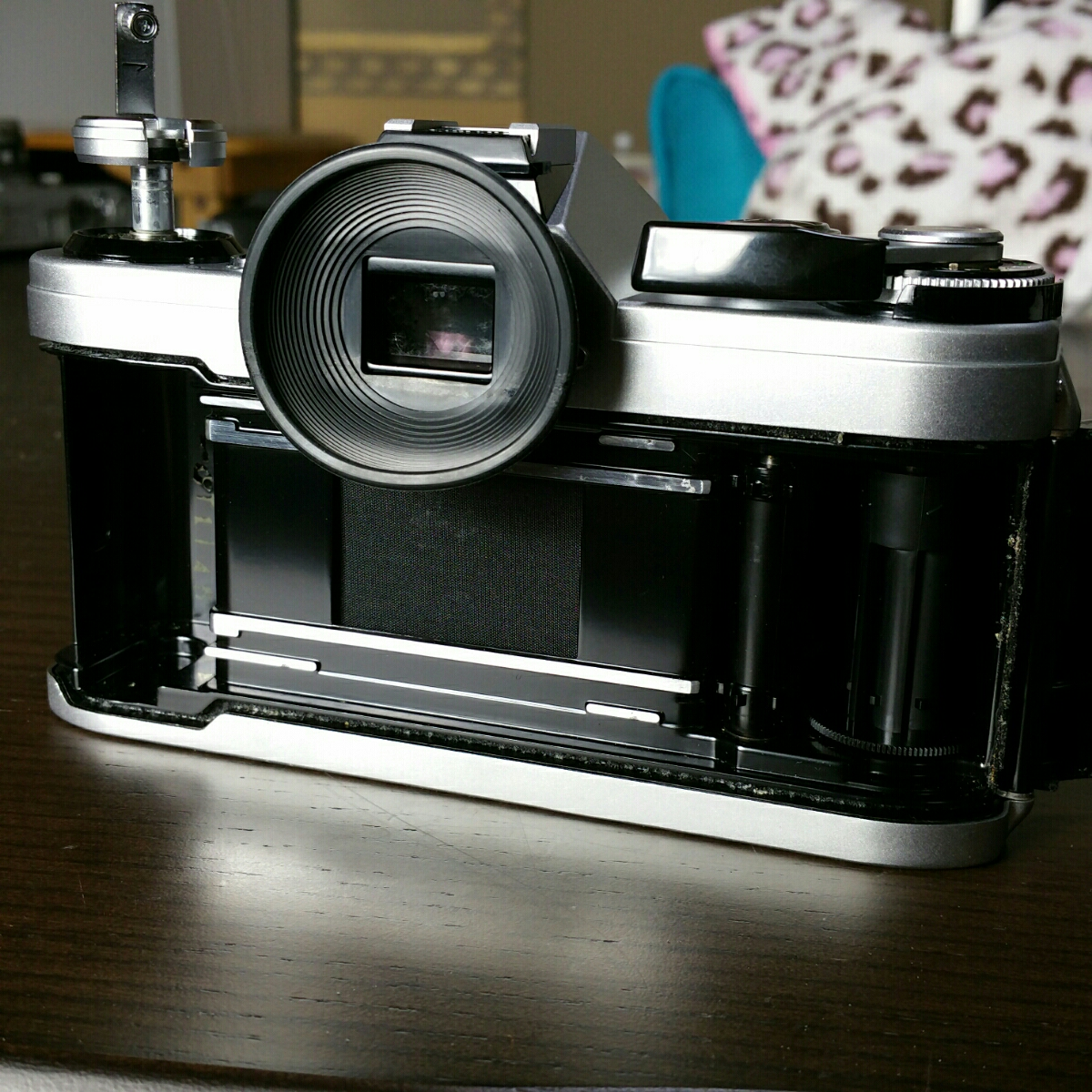 【ジャンク市】CANON AE-1 FD 50mm 1.8 純正フィルター フード BS-52 :#31_画像9