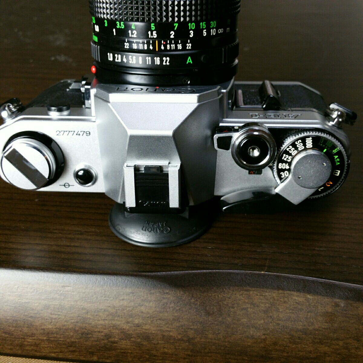 【ジャンク市】CANON AE-1 FD 50mm 1.8 純正フィルター フード BS-52 :#31_画像6