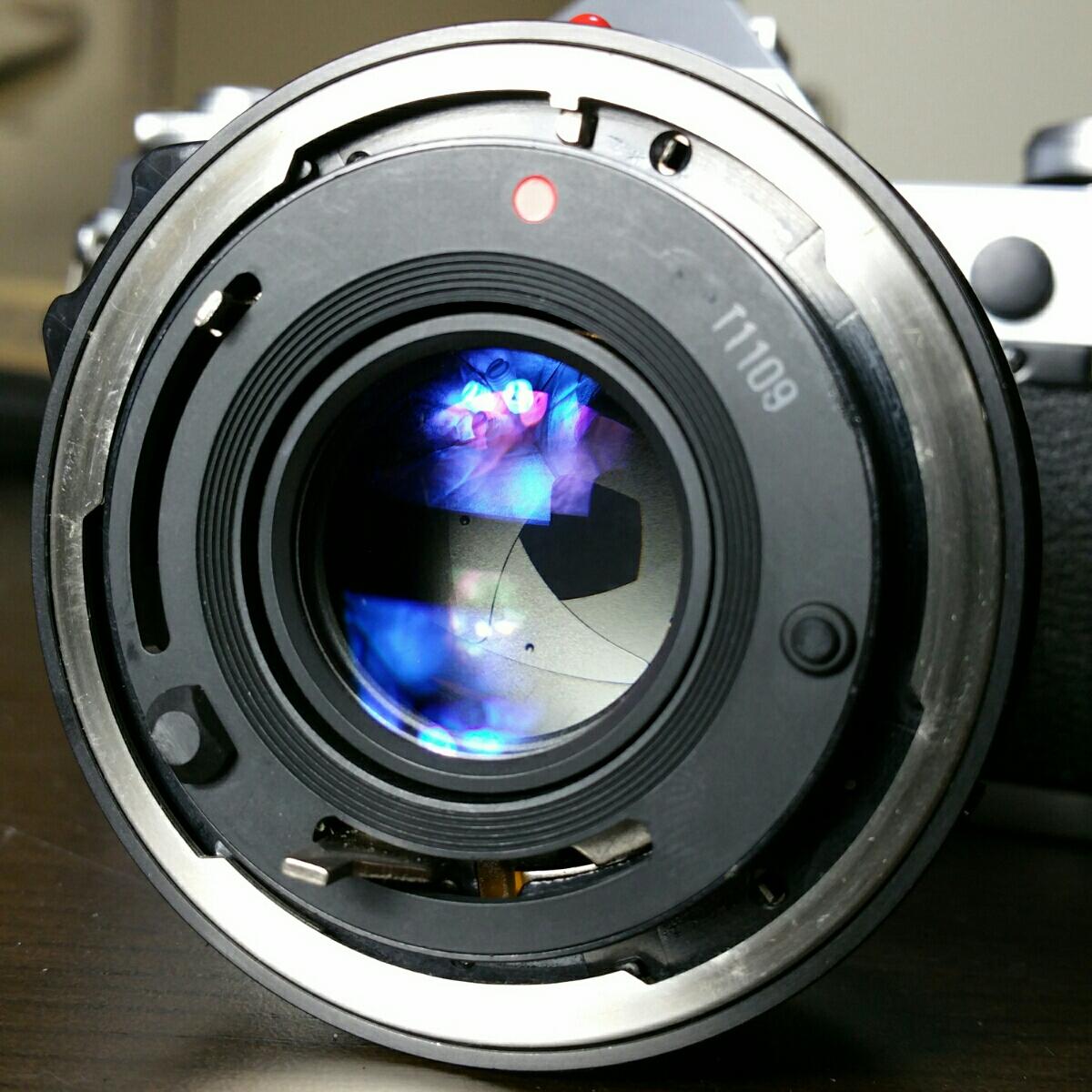 【ジャンク市】CANON AE-1 FD 50mm 1.8 純正フィルター フード BS-52 :#31_画像10