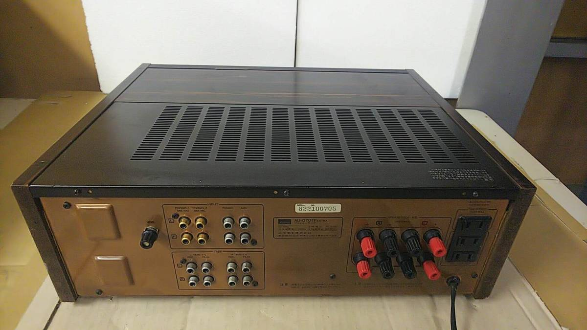 サンスイAU-D707F EXTRA通電ジャンク_画像4