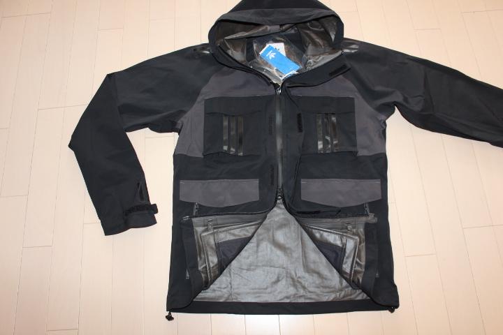 ◆新品◆定価99360円◆adidas Originals×White Mountaineering◆ホワイトマウンテニアリング◆GORE-TEX [WM SHELL JACKET] ◆黒◆O_画像6