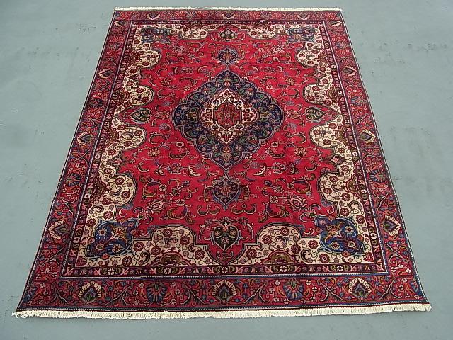 ◆ペルシャ絨毯◆アンティーク家具◆送料無料◆大判 イラン産375×282ギャッベ 骨董 古美術 ビンテージ 古道具 マット カーペット