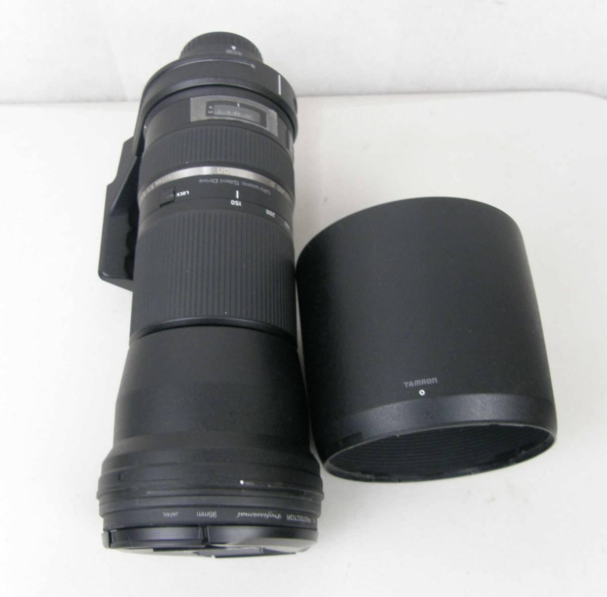 タムロン/TAMRON 150-600mm F5-6.3Di VC USD A011 ニコン用フルサイズ対応 動作品