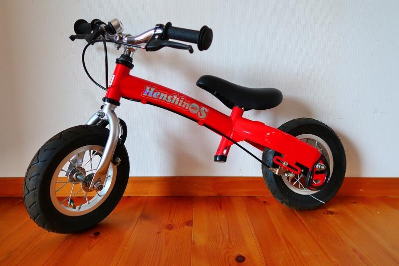 中古美品☆2歳からの子ども用自転車 「へんしんバイクS」☆バランスバイク☆