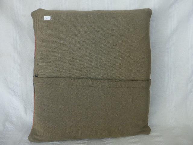 オールドキリム クッションカバー 47×44cm 3494_画像4