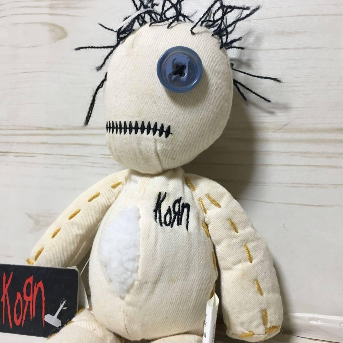 """USA購入 Korn コーン KoЯn """"issues"""" RAG DOLL ラグドール ぬいぐるみ"""