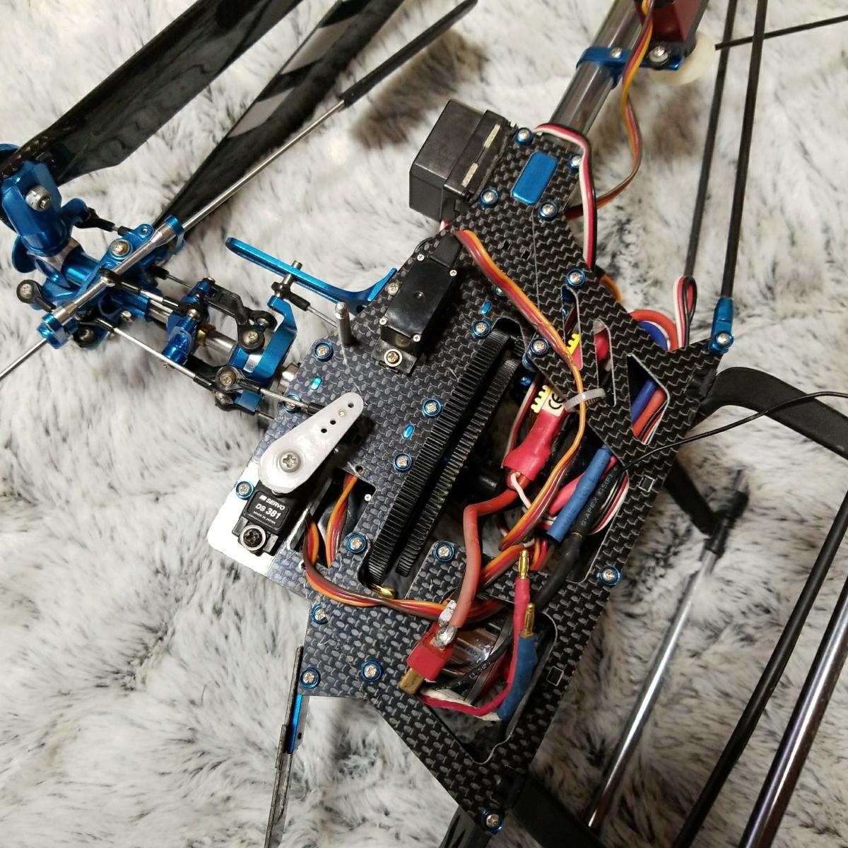 450クラス 電動ヘリ ジャンク_画像5
