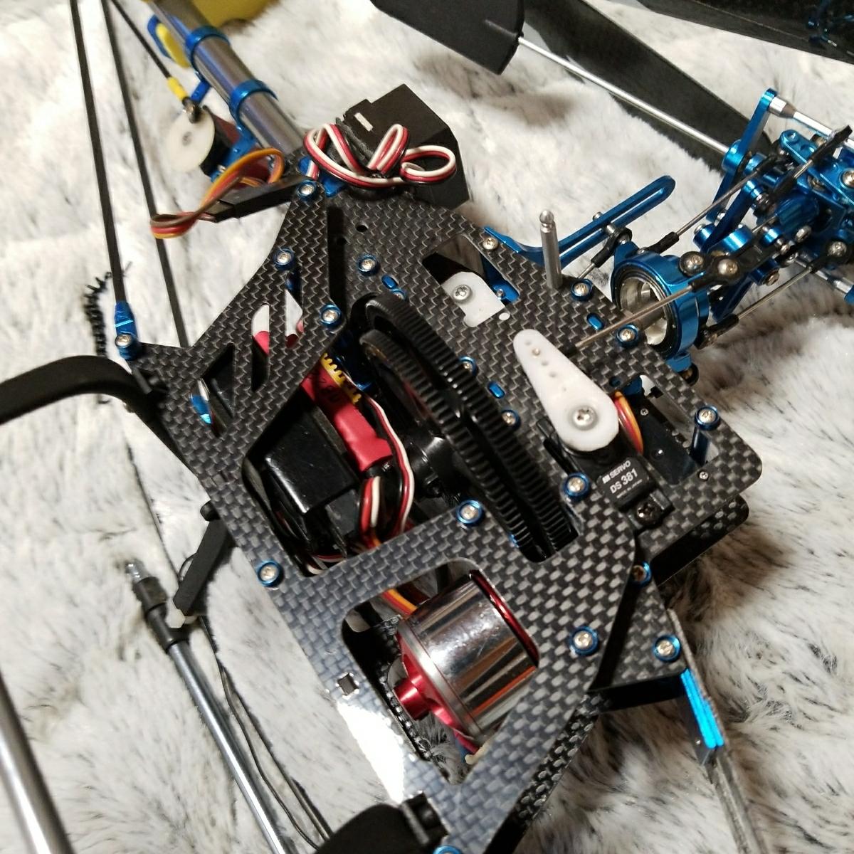 450クラス 電動ヘリ ジャンク_画像3