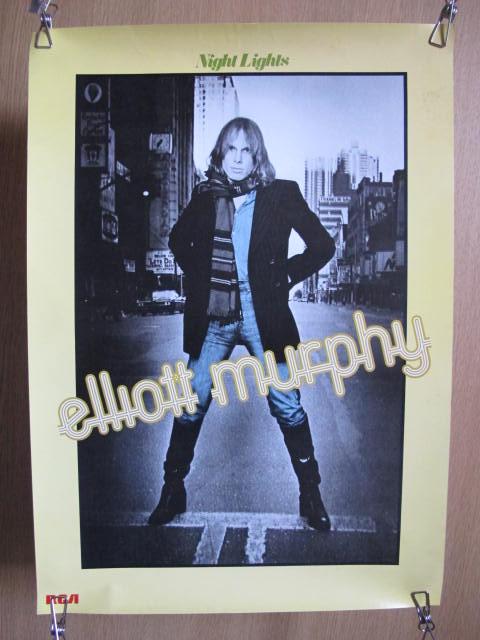 ELLIOTT MURPHY / エリオット・マーフィー ロック ポスター 検索:歌手 ミュージシャン レコード販促品 70~80年代