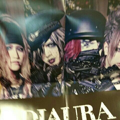 B2 ポスター 2枚セット☆DIAURA TOWER RECORD 非売品