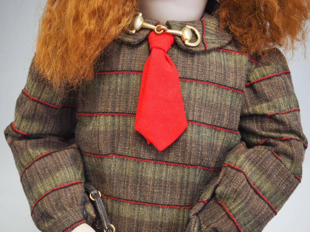 D1735 SIMON&HALBIG ビスクドール シモンハルビック アンティーク 西洋人形 コレクター放出 _画像4