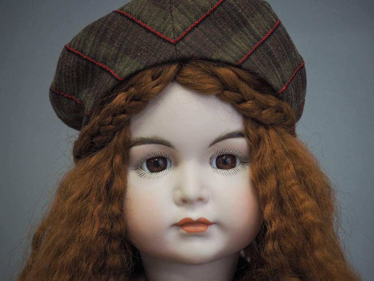 D1735 SIMON&HALBIG ビスクドール シモンハルビック アンティーク 西洋人形 コレクター放出 _画像3